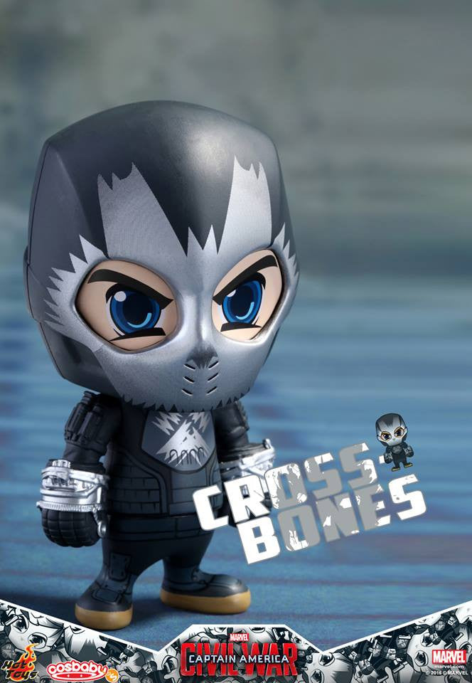 Hot Toys - COSB258 - Captain America: Civil War -  Crossbones Cosbaby Bobble-Head - Marvelous Toys - 1