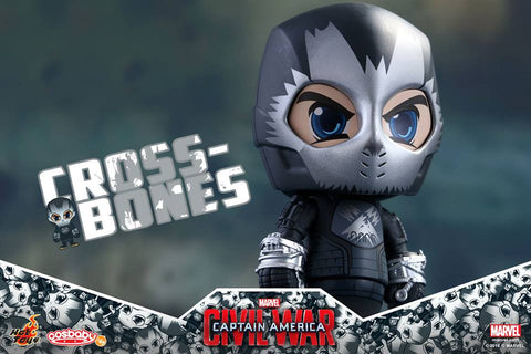 Hot Toys - COSB258 - Captain America: Civil War -  Crossbones Cosbaby Bobble-Head - Marvelous Toys - 2