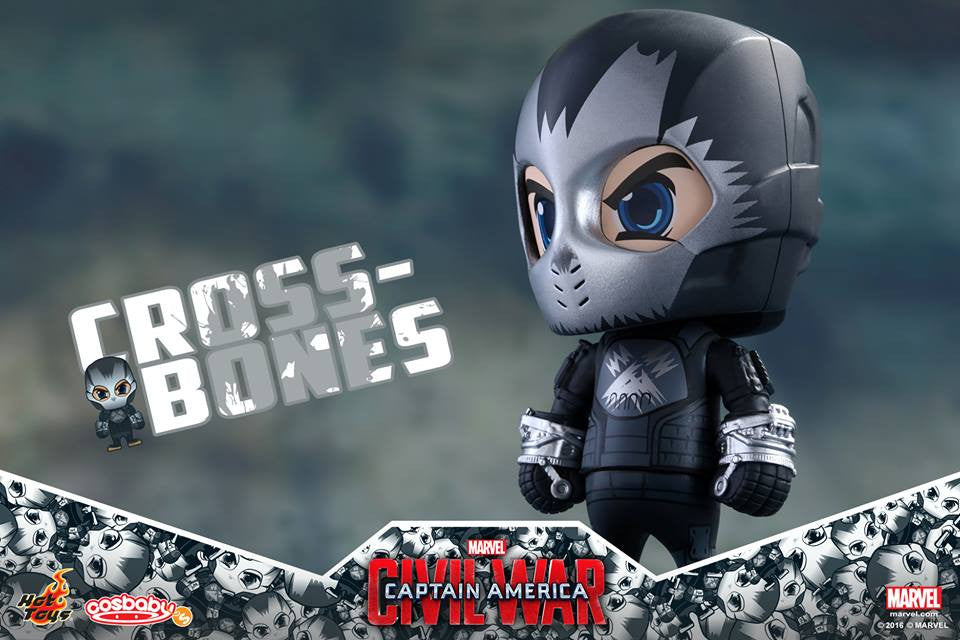 Hot Toys - COSB258 - Captain America: Civil War -  Crossbones Cosbaby Bobble-Head - Marvelous Toys - 3