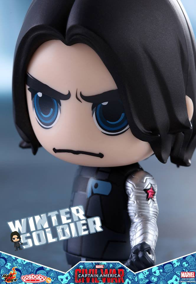 Hot Toys - COSB247 - Captain America: Civil War -  Winter Soldier Cosbaby Bobble-Head - Marvelous Toys - 3