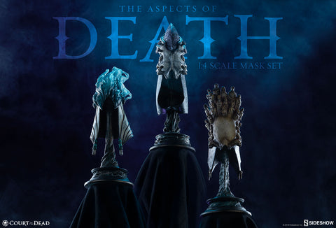 Sideshow Collectibles - Court of the Dead - The Aspects of Death - 1/4 Scale Mask Set