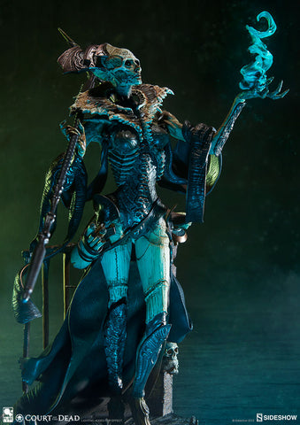 Sideshow Collectibles - Court of the Dead - Xiall: Osteomancer's Vision