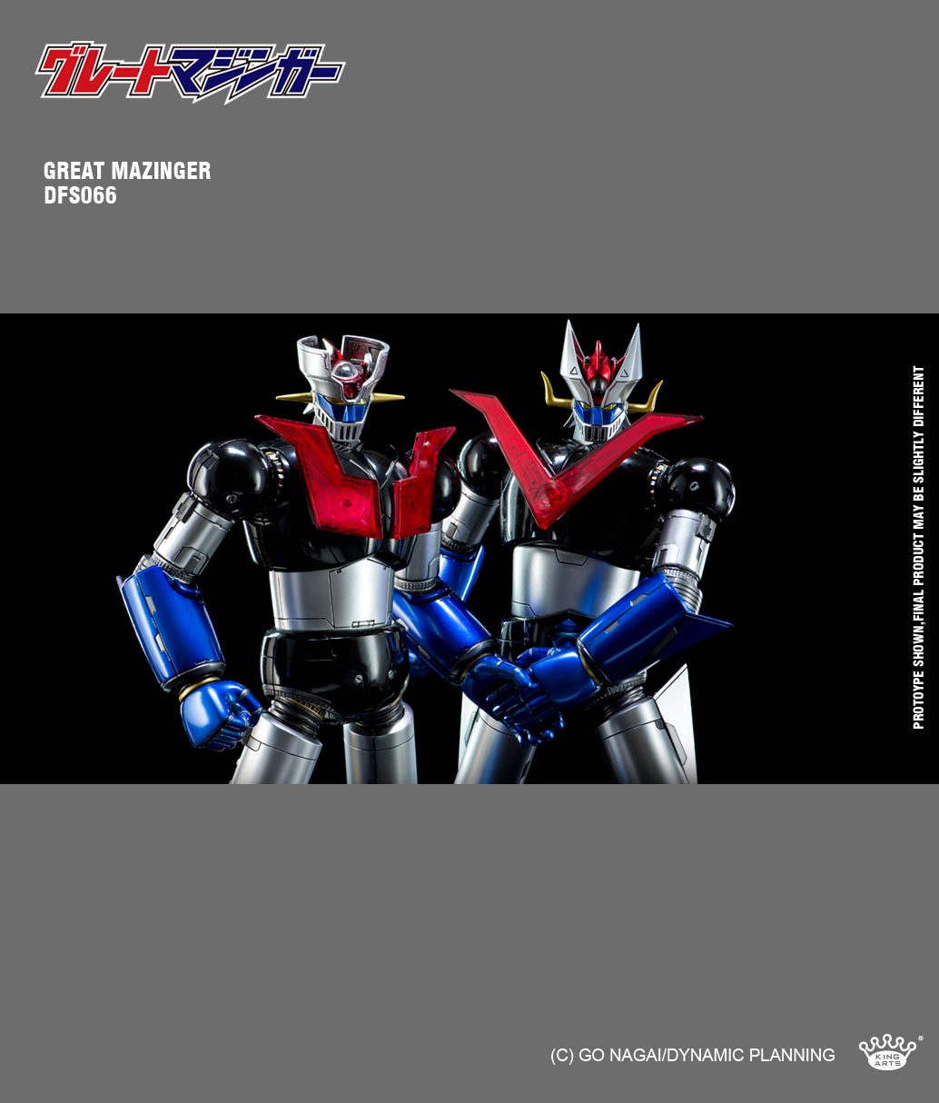 King Arts - DFS066 - Dynamic Planning - Diecast Action Great Mazinger