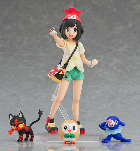 figma - 371 - Pokémon Sun and Moon - Selene (Mizuki) (with Rowlet, Litten and Popplio)