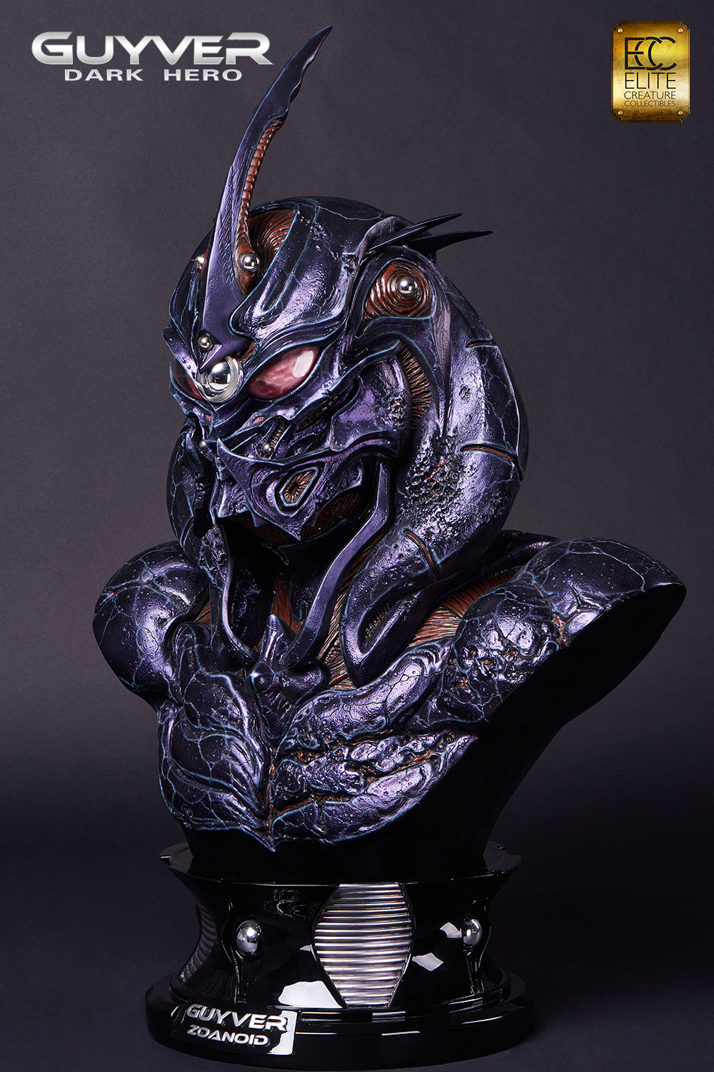 Elite Creature Collectibles - Guyver: Dark Hero - Guyver Zoanoid 1:1 Scale Bust