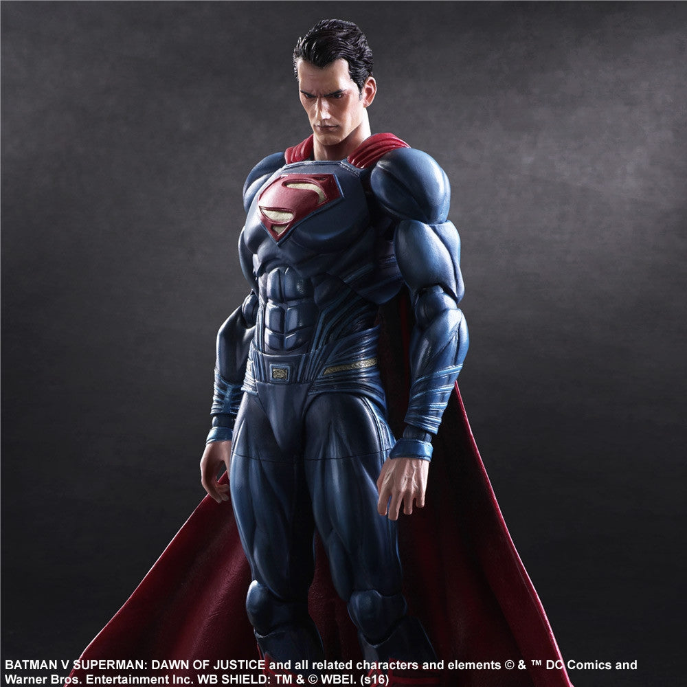 (IN STOCK) Play Arts Kai - Batman v Superman: Dawn Of Justice - Superman - Marvelous Toys - 6