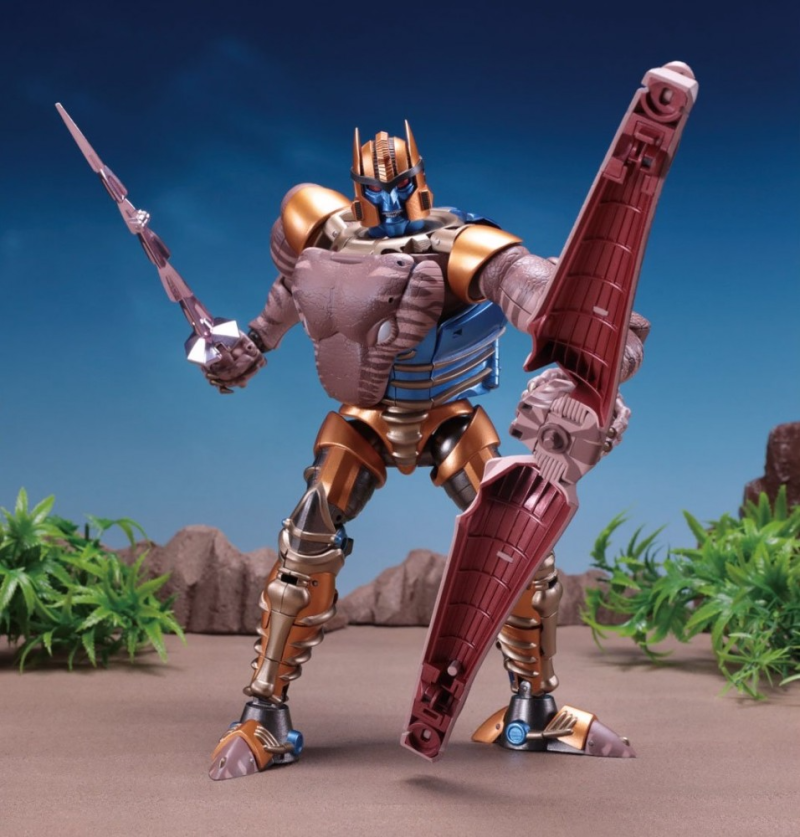 TakaraTomy - Transformers Masterpiece - MP-41 - Dinobot (Beast Wars)