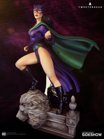 Sideshow Collectibles - Super Powers Collection - DC Comics - Catwoman Maquette by Tweeterhead