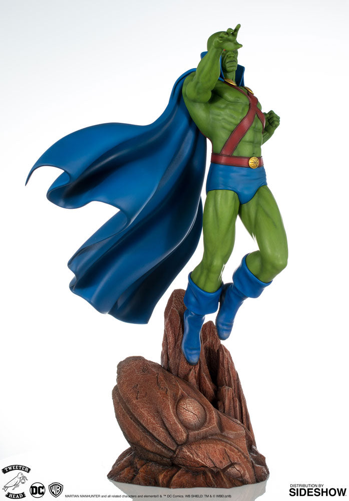 Sideshow Collectibles - Super Powers Collection - Martian Manhunter Maquette by Tweeterhead
