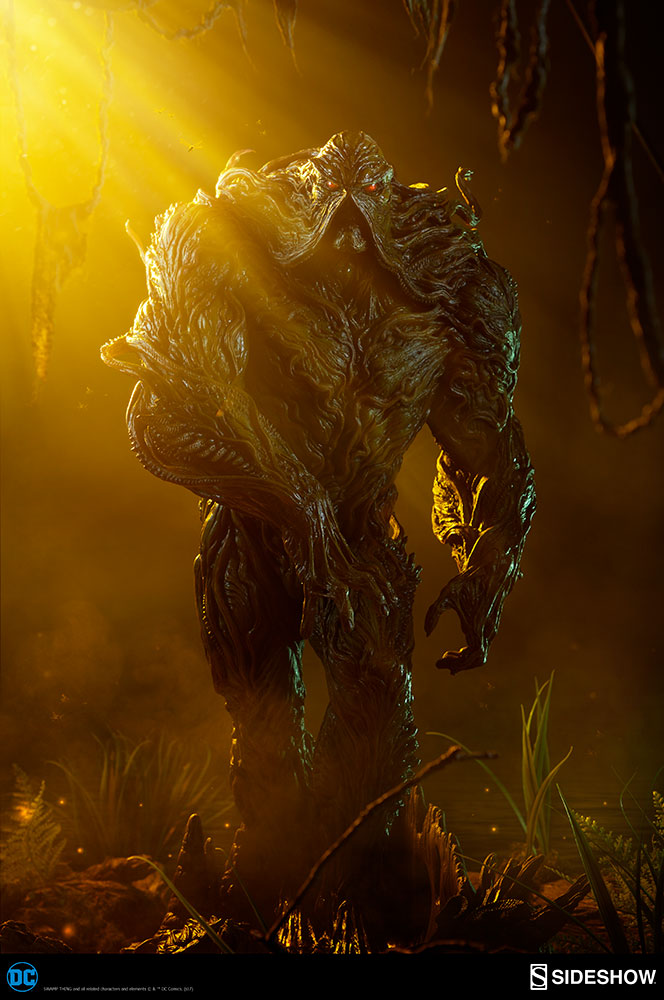 Sideshow Collectibles - DC Comics - Swamp Thing Maquette