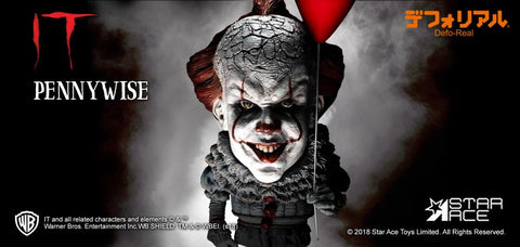 Star Ace Toys - Deform Real Series - IT (2017) - Pennywise (Normal Ver.)