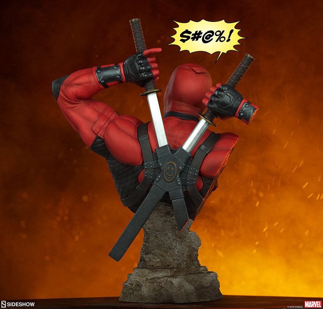 Sideshow Collectibles - Bust - Marvel - Deadpool