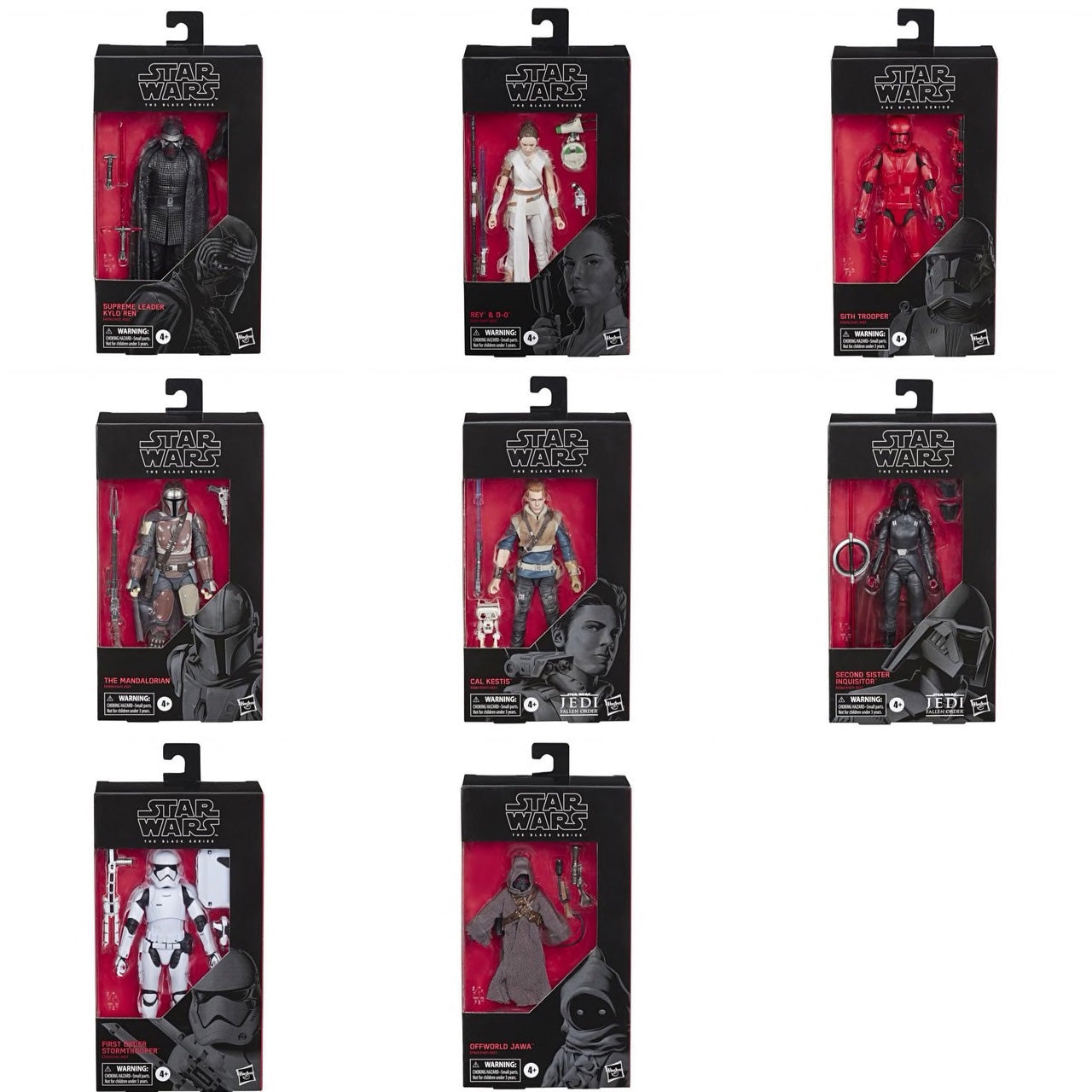 Hasbro - Star Wars: The Black Series - Wave 33 (Set of 8)