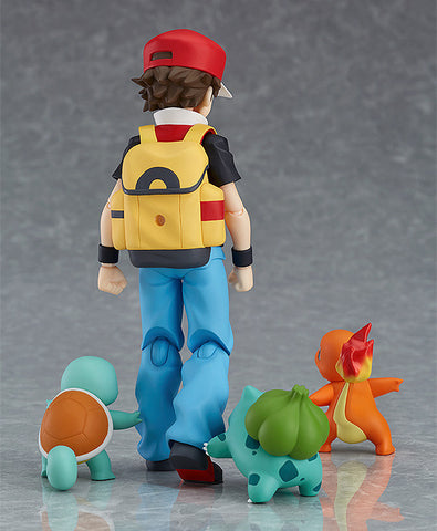 Figma - 356 - Pokémon - Red (with Bulbasaur, Charmander and Squirtle)