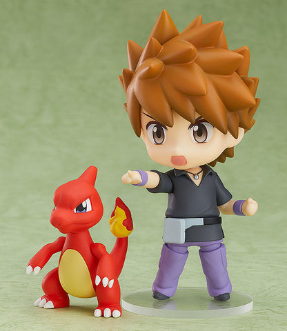 Nendoroid - 998 - Pokemon - Green (with Charmeleon, Wartortle & Ivysaur)
