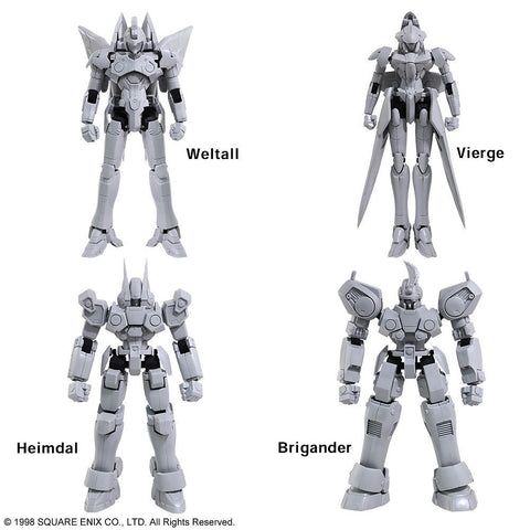Square Enix - Structure Arts - Xenogears - Model Kit Vol. 1 (Set of 4)
