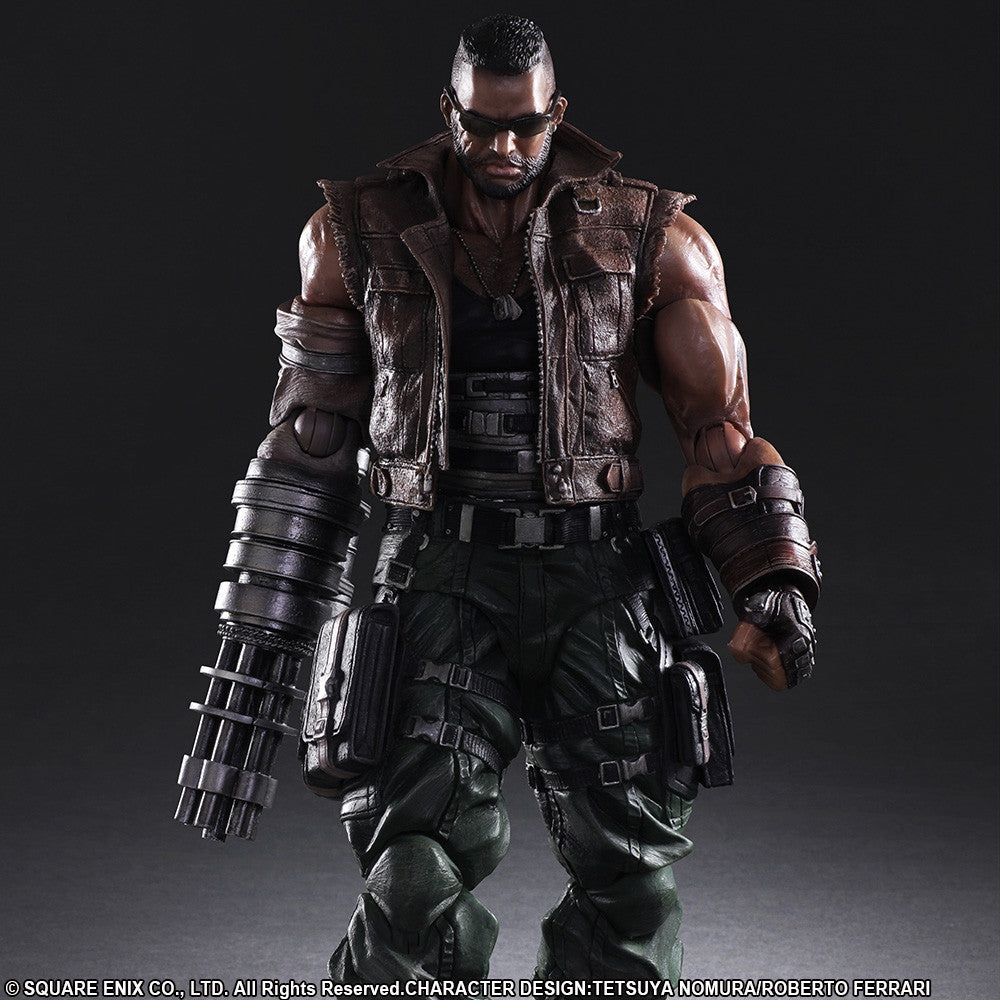 Play Arts Kai - Final Fantasy VII Remake - Barret Wallace - Marvelous Toys - 6