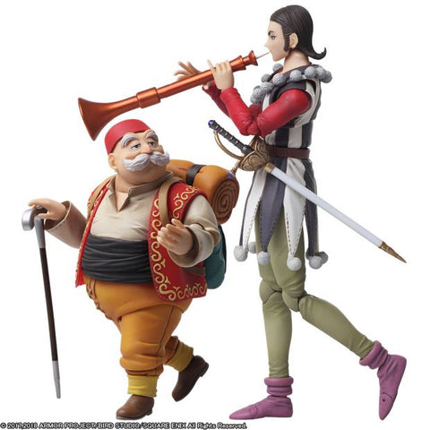 Bring Arts - Dragon Quest XI: Echoes of an Elusive Age - Sylvando and Rab
