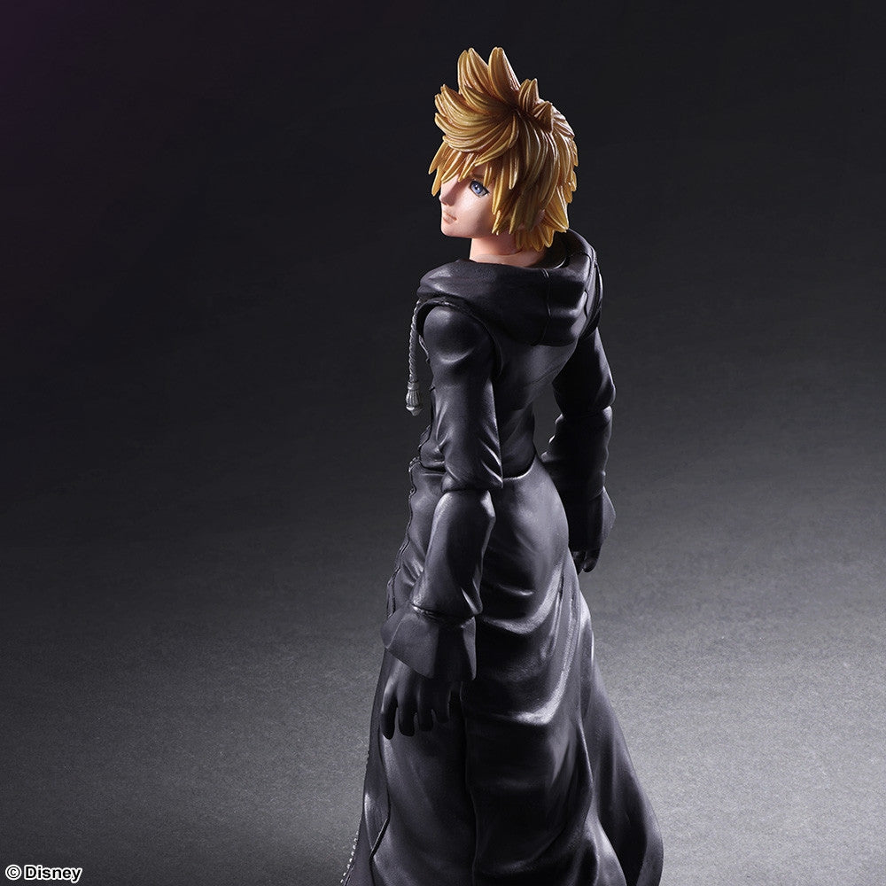 Play Arts Kai - Kingdom Hearts II - Roxas - Organization XIII Ver. - Marvelous Toys - 6