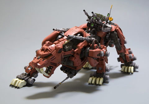 Kotobukiya - HMM Zoids - EZ-016 - Saber Tiger Marking Plus Ver. Model Kit