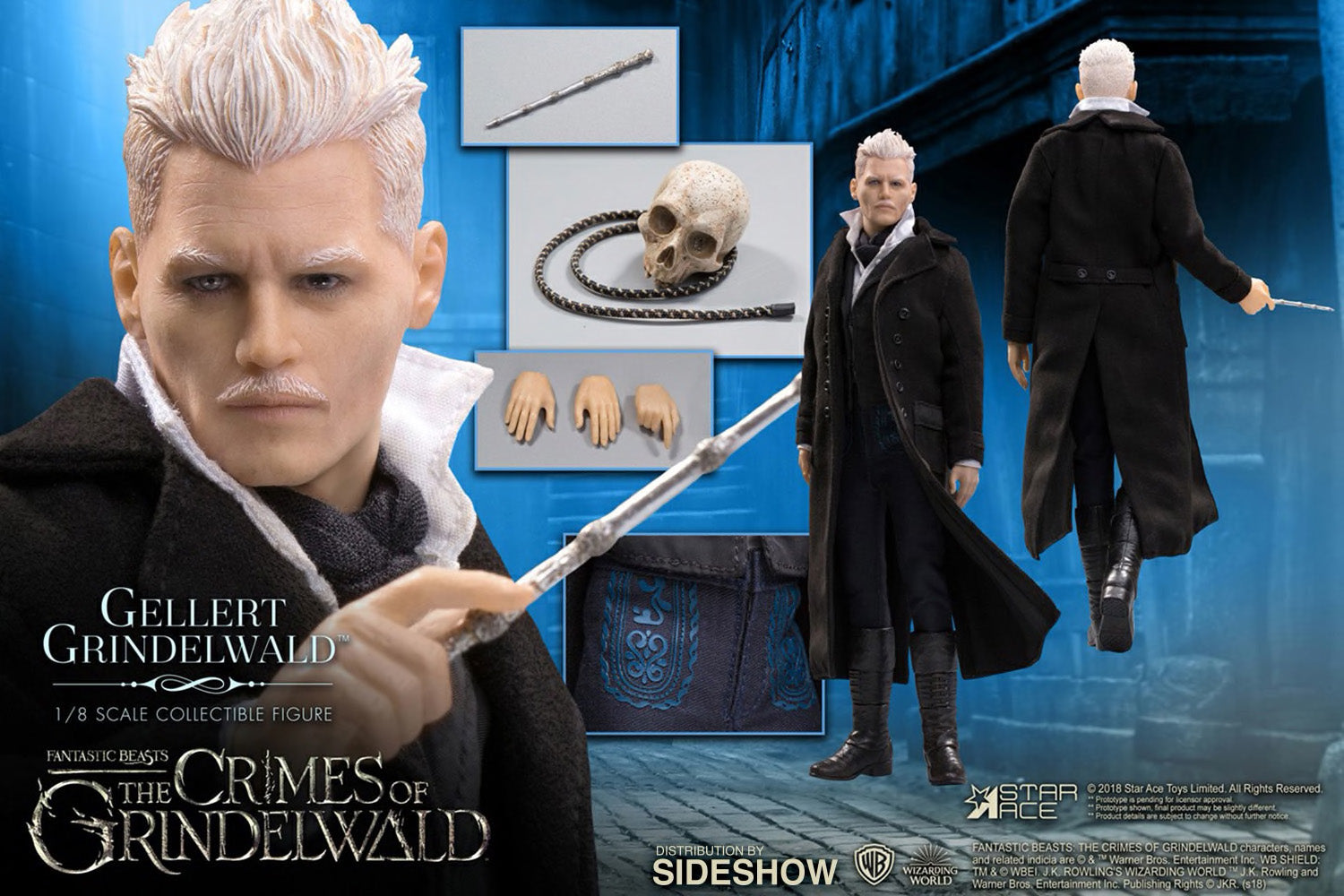 Star Ace Toys - Fantastic Beasts: The Crimes of Grindelwald - Gellert Grindelwald (1/8 Scale)