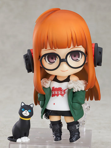 Nendoroid - 963 - Persona 5 - Futaba Sakura (with real world Morgana)