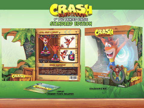 First 4 Figures - Crash Bandicoot Statue