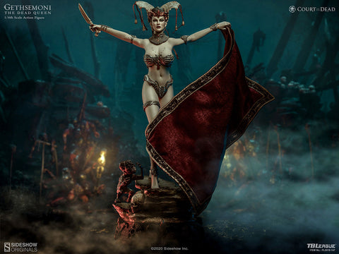 Sideshow X TBLeague - Sixth Scale Figure - Court of the Dead - Gethsemoni: The Dead Queen