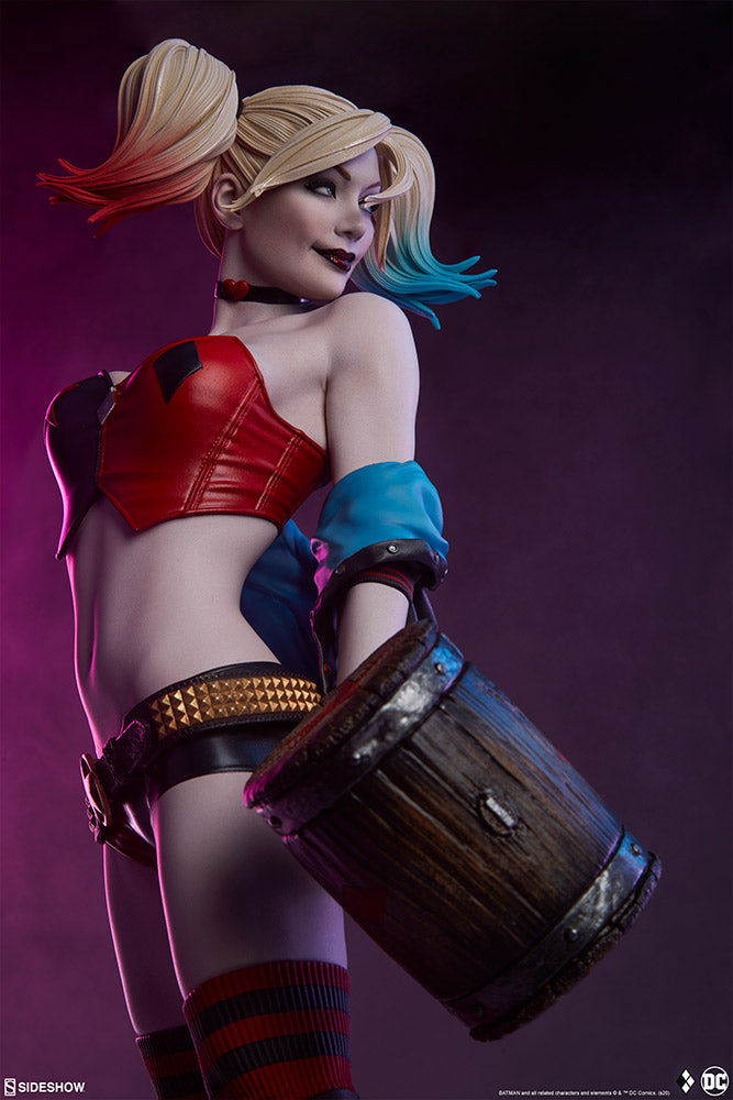 Sideshow Collectibles - Premium Format Figure - DC Comics - Harley Quinn: Hell On Wheels