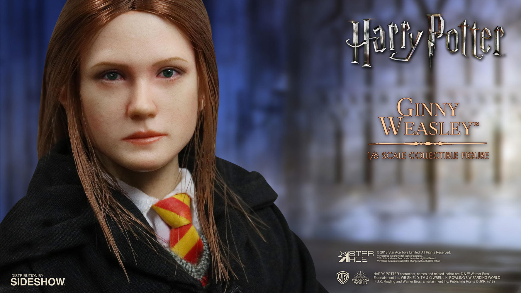 Star Ace Toys - Harry Potter and the Sorcerer's Stone -  Ginny Weasley (1/6 Scale)