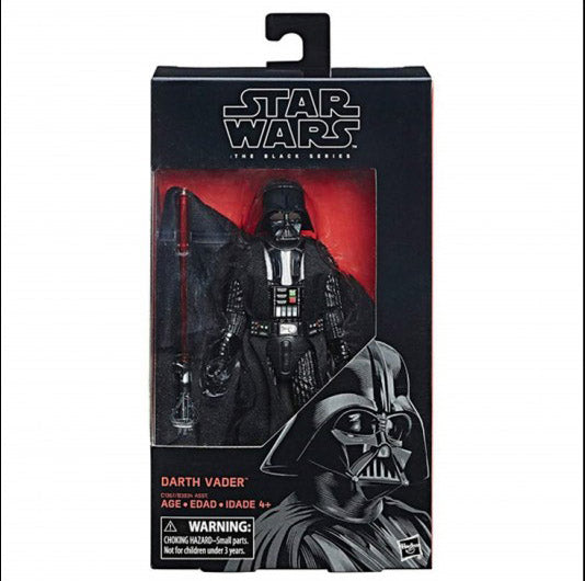 "Hasbro - Star Wars The Black Series - 6"" Figure - 2017 Wave 3 - Darth Vader"