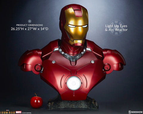 Sideshow Collectibles - Life-Size Bust - Marvel - Iron Man Mark III