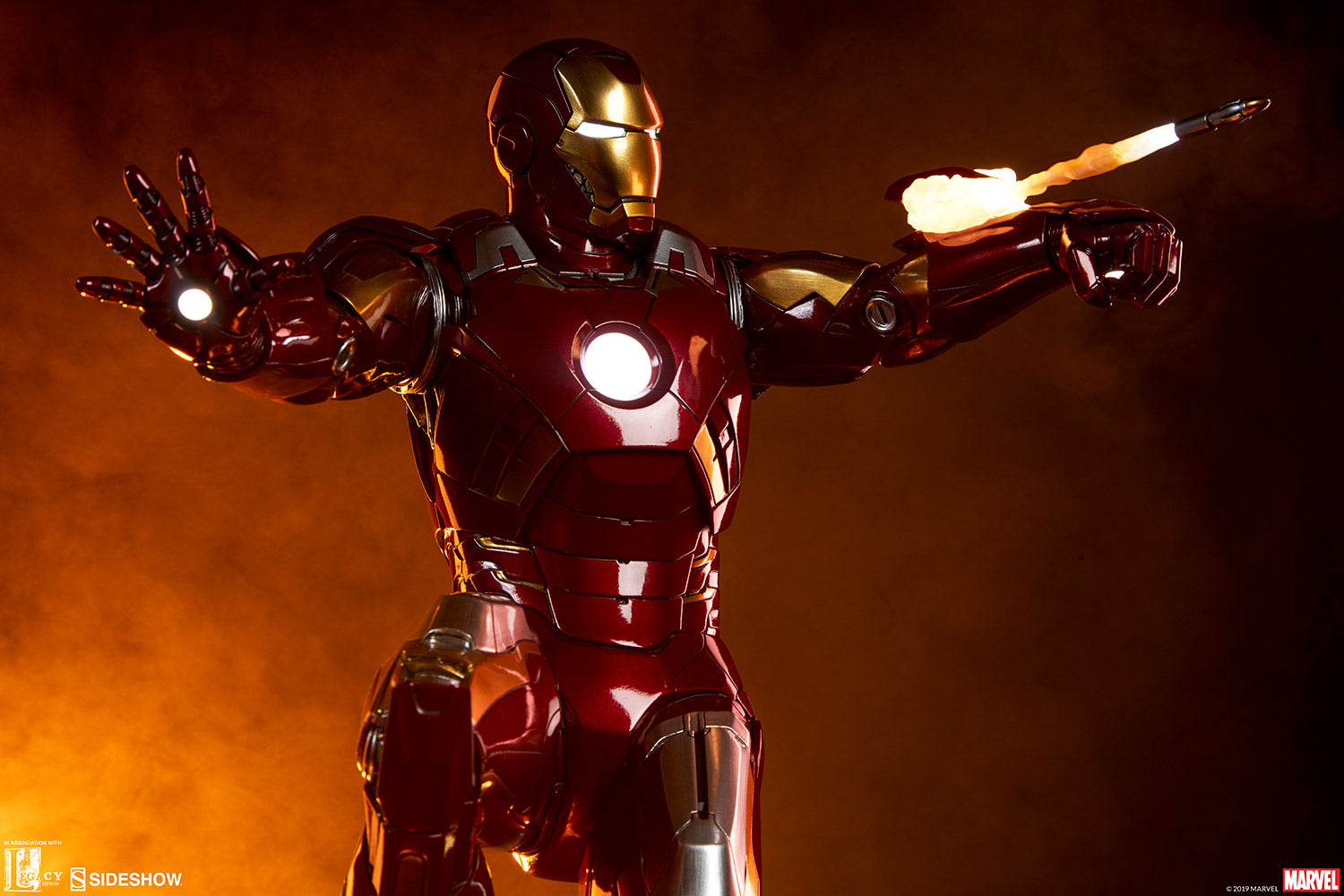 Sideshow Collectibles - Maquette - The Avengers - Iron Man Mark VII
