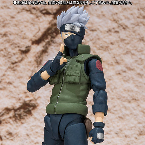 (IN STOCK) Kakashi Hatake - Naruto - S.H. Figuarts Tamashii Web Exclusive - Marvelous Toys - 2
