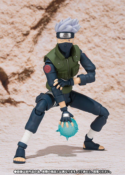 (IN STOCK) Kakashi Hatake - Naruto - S.H. Figuarts Tamashii Web Exclusive - Marvelous Toys - 3