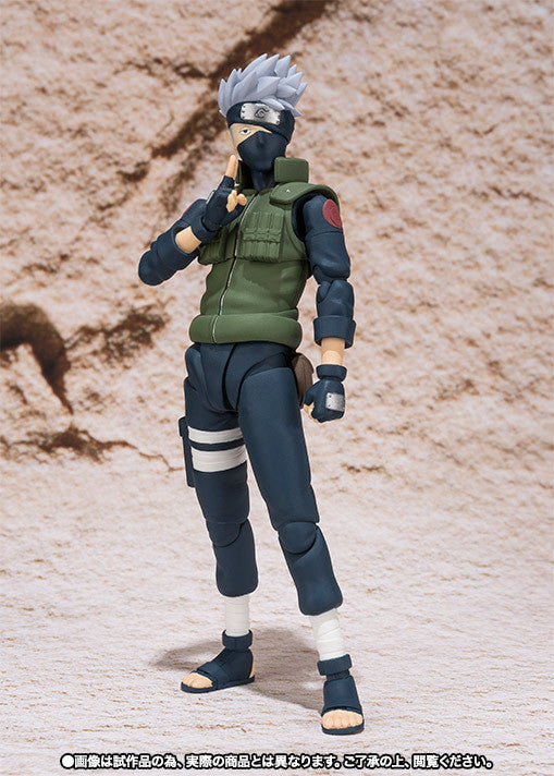 (IN STOCK) Kakashi Hatake - Naruto - S.H. Figuarts Tamashii Web Exclusive - Marvelous Toys - 4