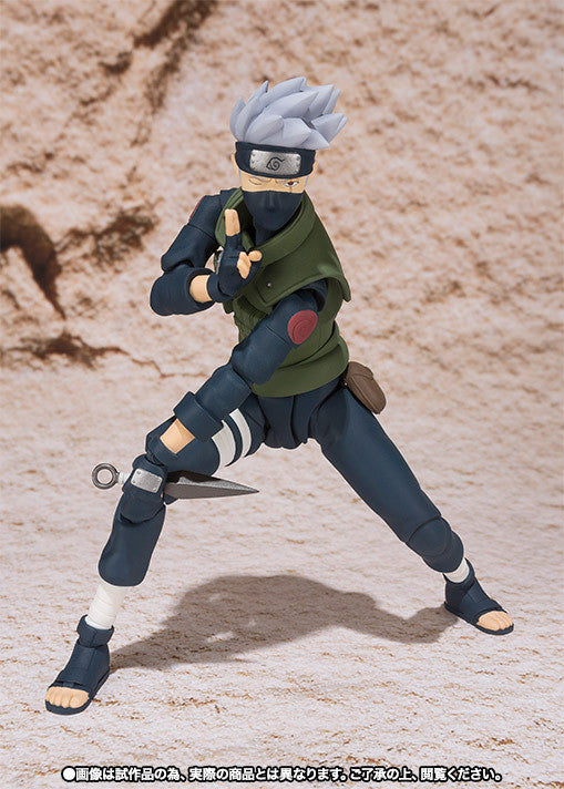 (IN STOCK) Kakashi Hatake - Naruto - S.H. Figuarts Tamashii Web Exclusive - Marvelous Toys - 5