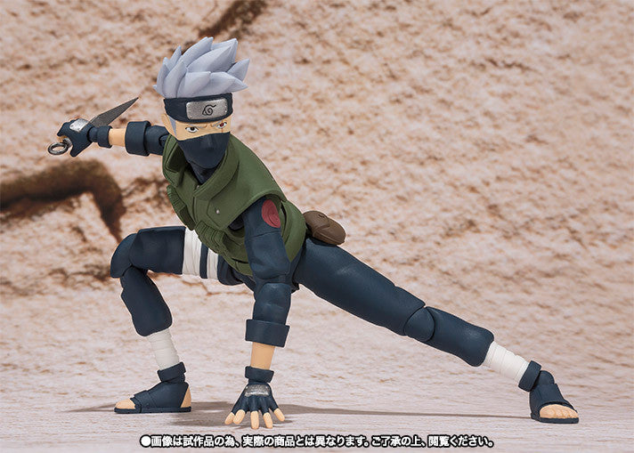 (IN STOCK) Kakashi Hatake - Naruto - S.H. Figuarts Tamashii Web Exclusive - Marvelous Toys - 6
