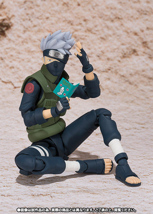 (IN STOCK) Kakashi Hatake - Naruto - S.H. Figuarts Tamashii Web Exclusive - Marvelous Toys - 7
