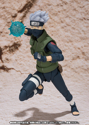 (IN STOCK) Kakashi Hatake - Naruto - S.H. Figuarts Tamashii Web Exclusive - Marvelous Toys - 1