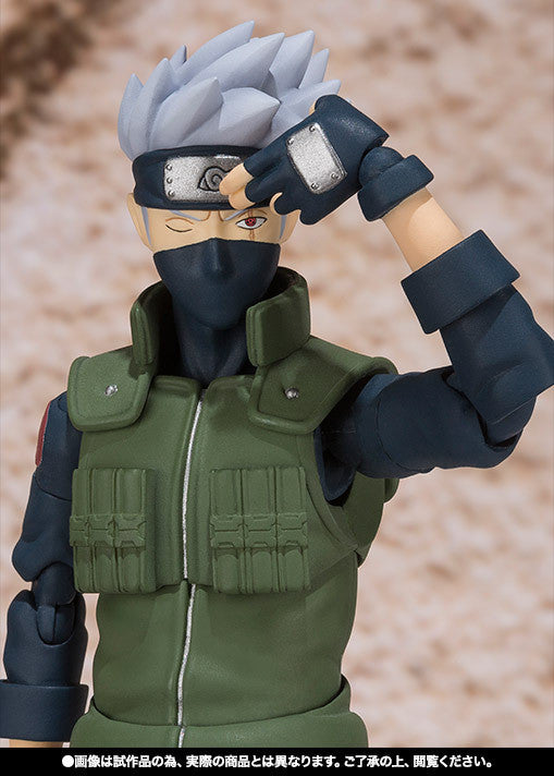 (IN STOCK) Kakashi Hatake - Naruto - S.H. Figuarts Tamashii Web Exclusive - Marvelous Toys - 8
