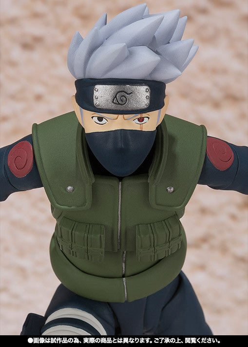 (IN STOCK) Kakashi Hatake - Naruto - S.H. Figuarts Tamashii Web Exclusive - Marvelous Toys - 9