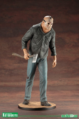 Kotobukiya - ARTFX+ - Friday The 13th Part III  - Jason Voorhees (1/6 Scale) - Marvelous Toys - 1