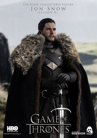 ThreeZero - Game of Thrones - Jon Snow (Season 8) (1/6 Scale)