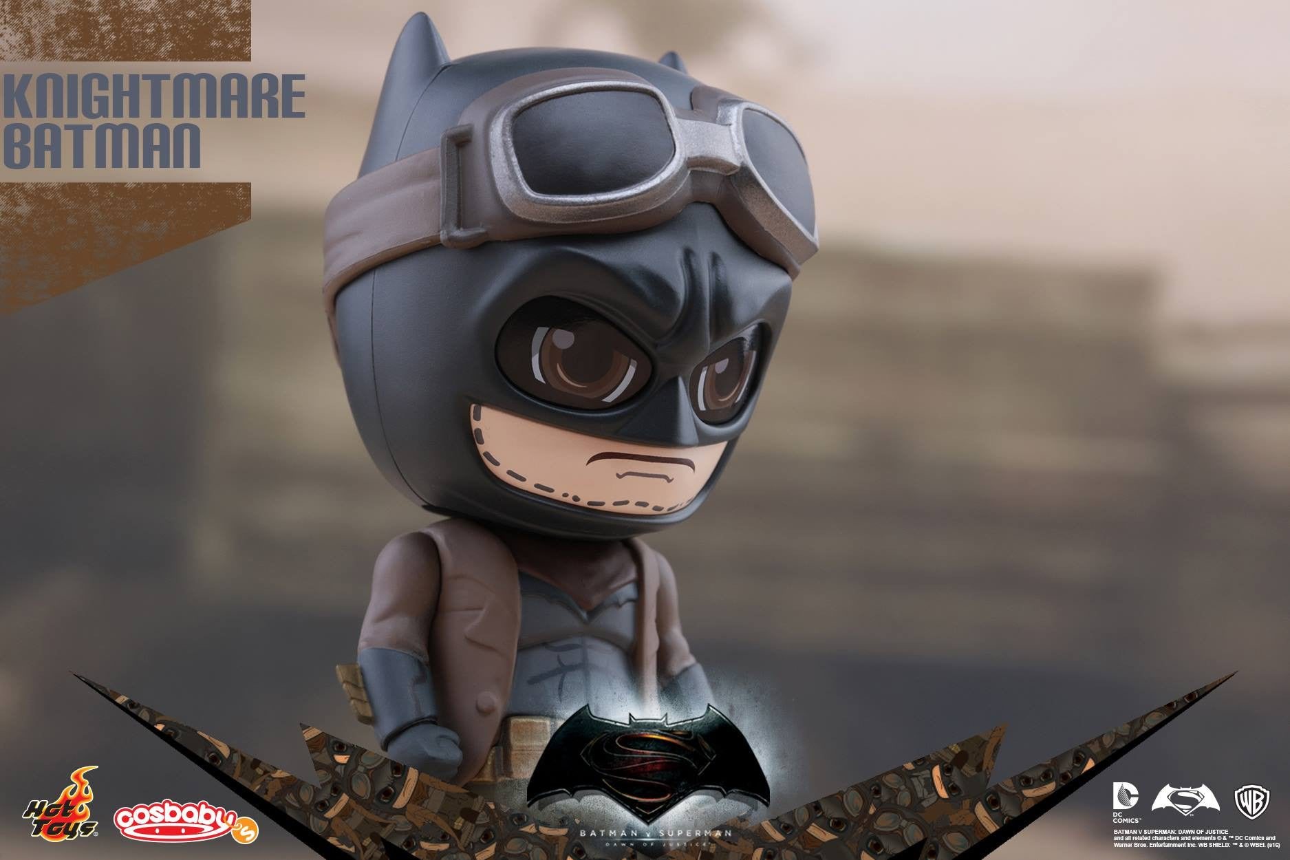 Knightmare Batman Cosbaby Collectible COSB226 - Batman v Superman: Dawn Of Justice - Hot Toys - Marvelous Toys - 3