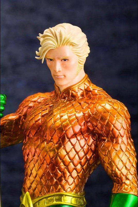 Kotobukiya - ARTFX+ - DC New 52 Aquaman Statue (1/10 Scale) - Marvelous Toys - 3