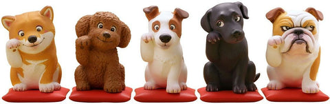 Kaiyodo - MiniQ - Sato Kunio's Lucky Dog (Box of 8)