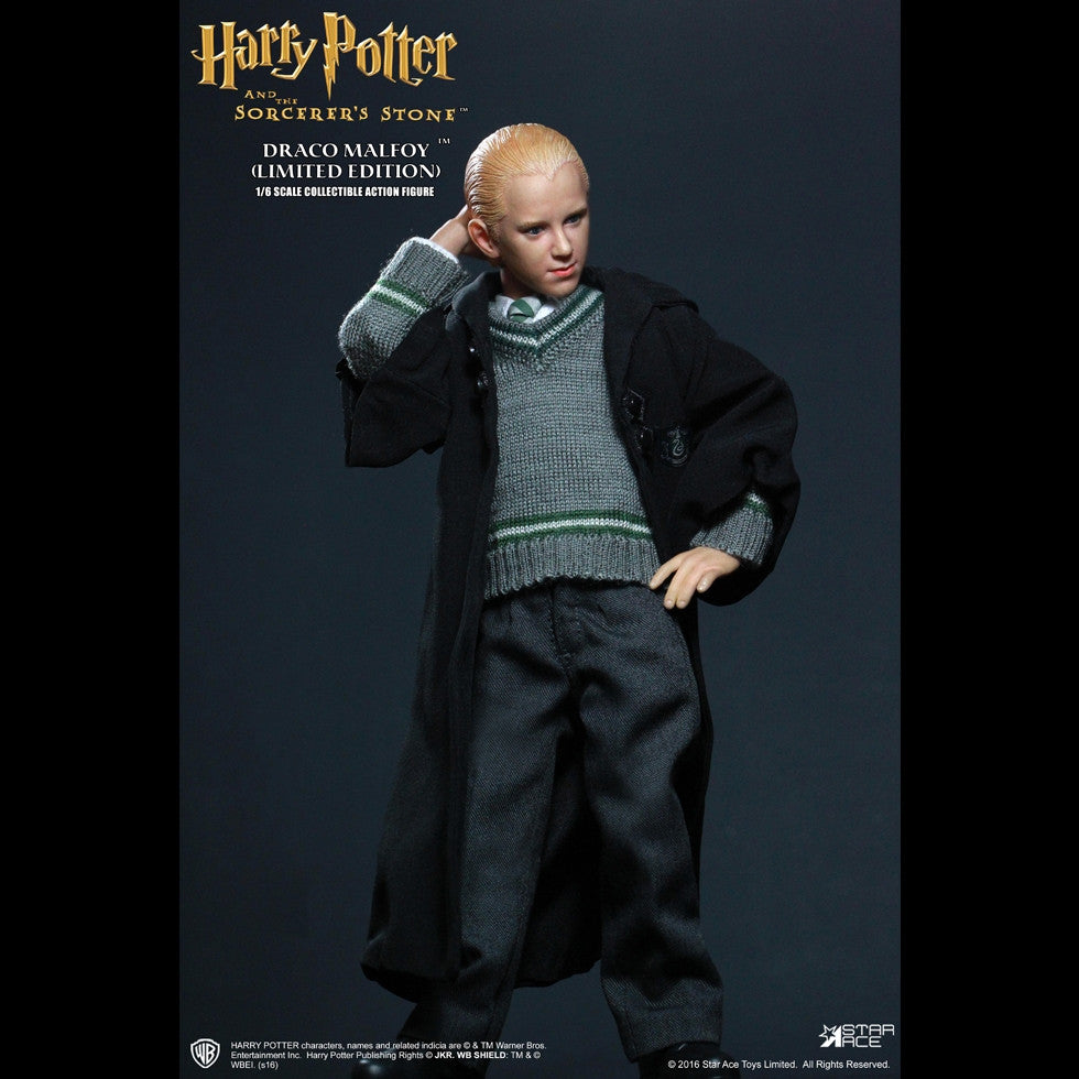 Star Ace Toys - SA0028 - Harry Potter And The Sorcerer's Stone - Draco Malfoy (Uniform) - Marvelous Toys - 5
