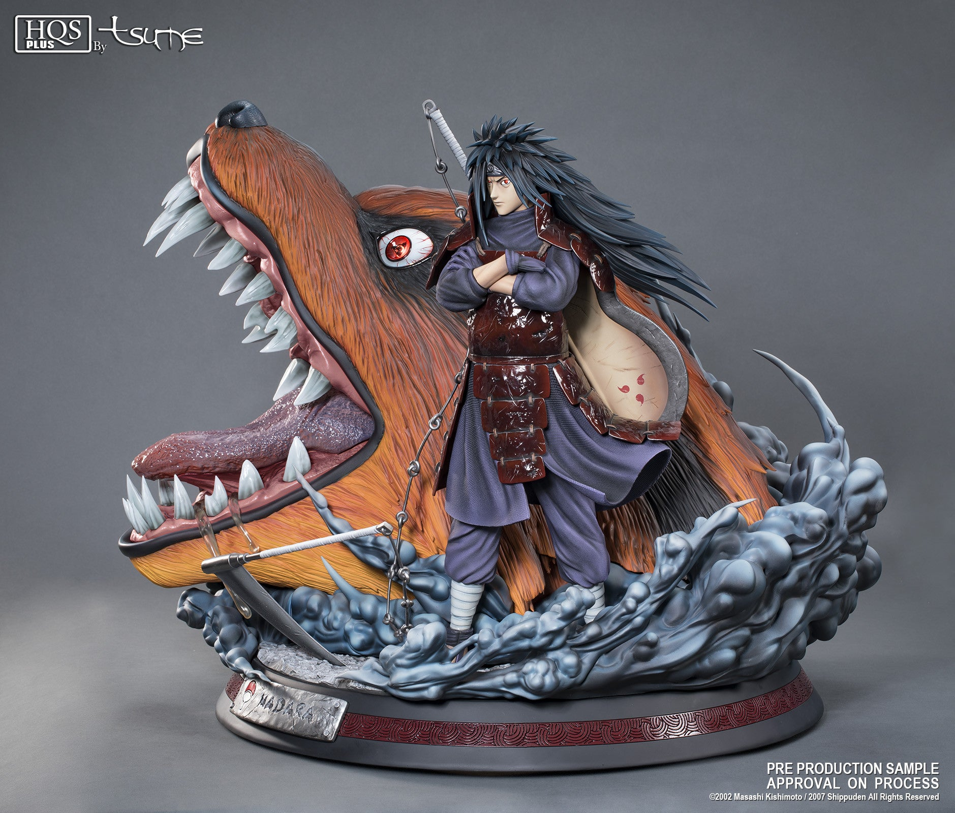 Tsume-Art - High Quality Statue Plus - Naruto - Madara Uchiha (1:4 Scale)