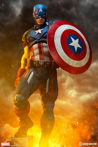 Sideshow Collectibles - Premium Format Figure - Marvel - Captain America